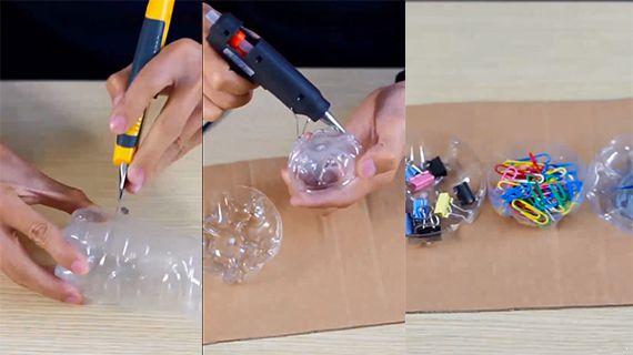 怎么做塑料瓶收纳 怎么做塑料瓶收纳 