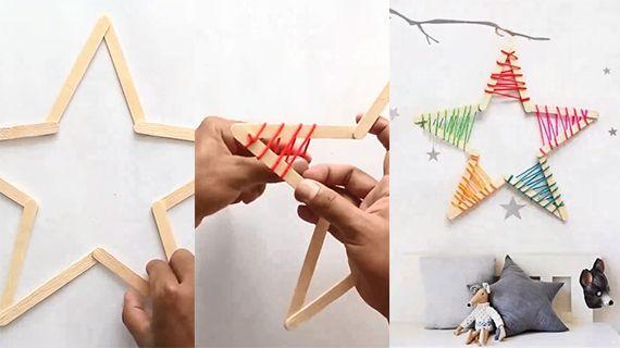 怎么做五角星装饰品|怎么做五角星装饰品|